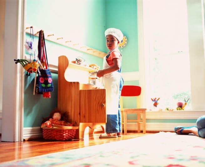 come costruire una cucina giocattolo in legno per bambini 1