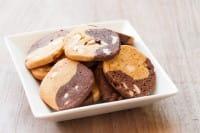 biscotti vegan al cacao e cocco