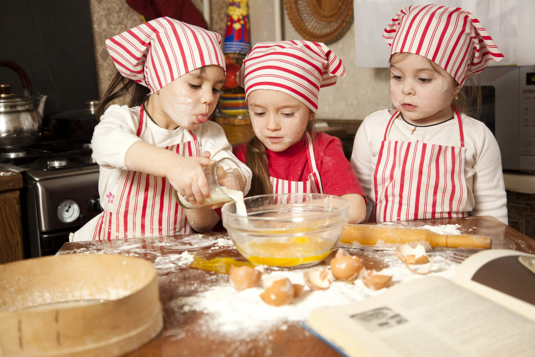 BABY CHEF IN CUCINA