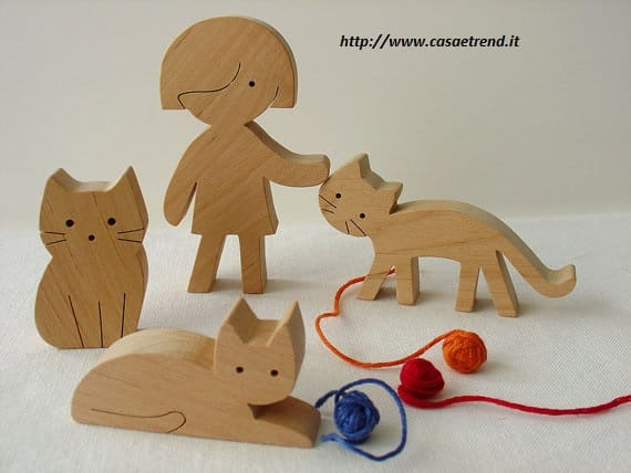 Conosciuto Giocattoli in legno fai da te per bambini - Non sprecare ED63