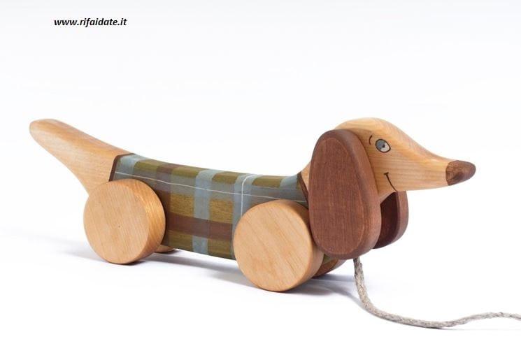 Favoloso Giocattoli in legno fai da te per bambini - Non sprecare EZ56