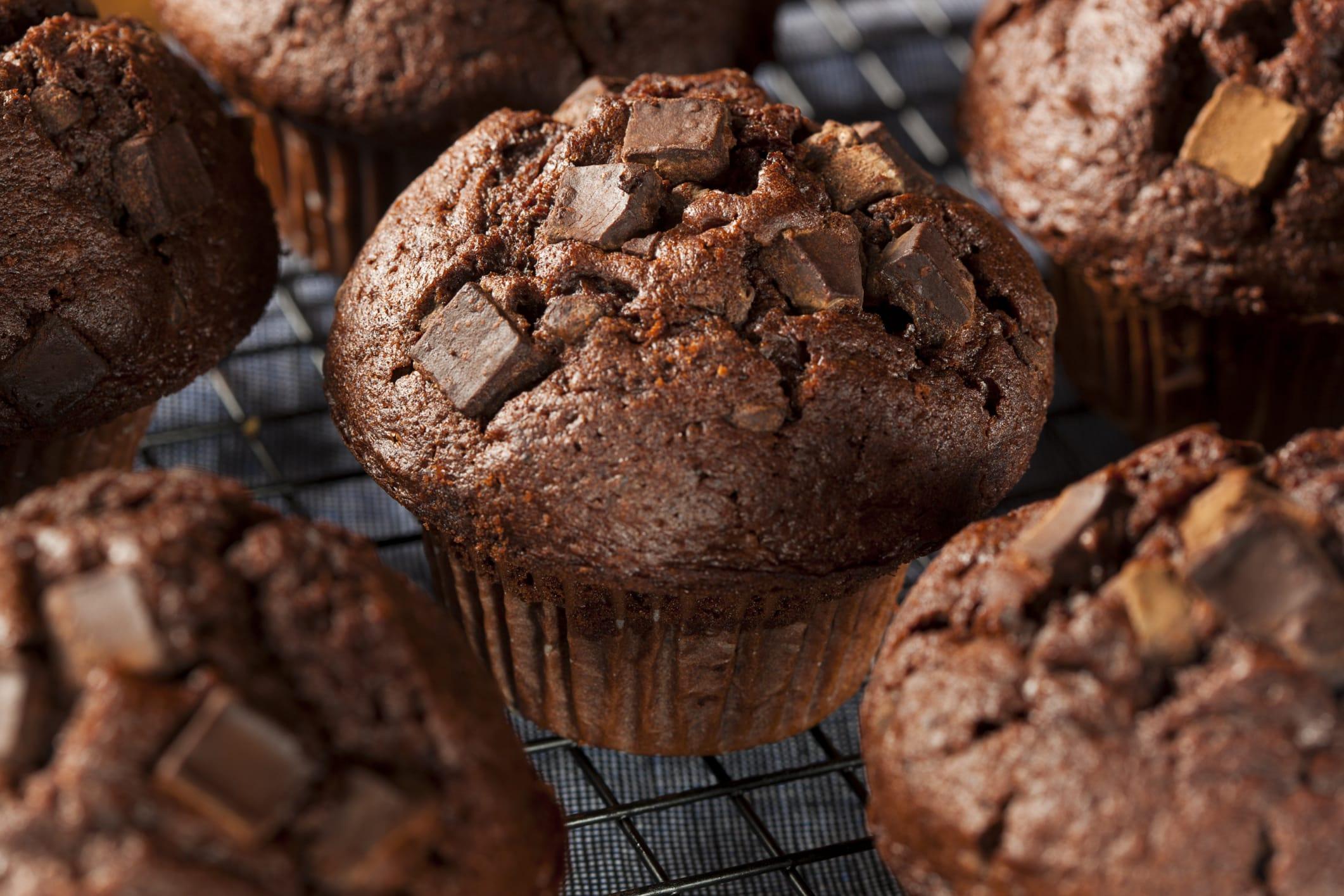 ricetta muffin al cioccolato vegan