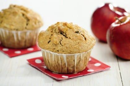 La ricetta per preparare i muffin alle mele senza glutine