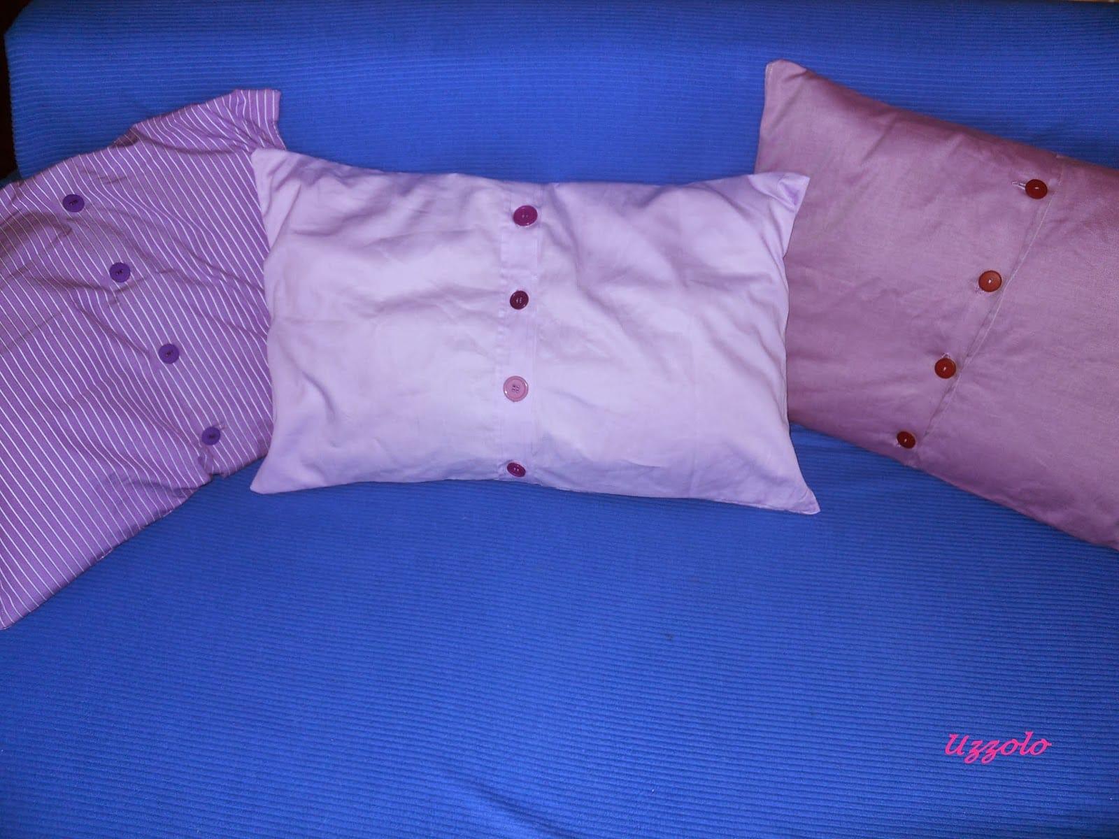 Riciclo creativo camicia pu trasformarsi in un cuscino for Inferriate fai da te