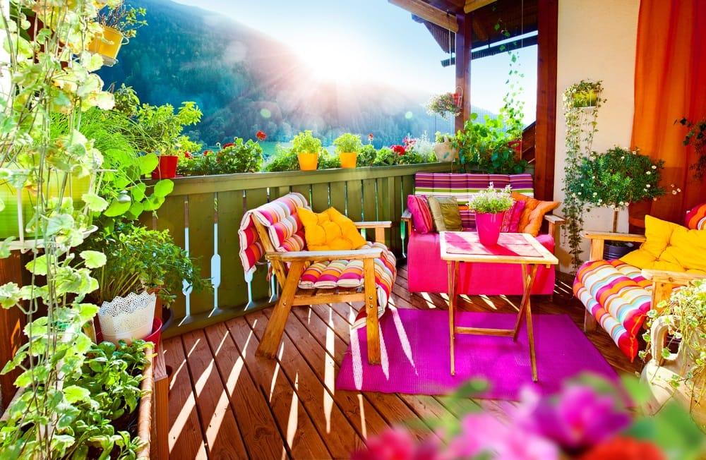 Come arredare il balcone con i fiori - Non sprecare