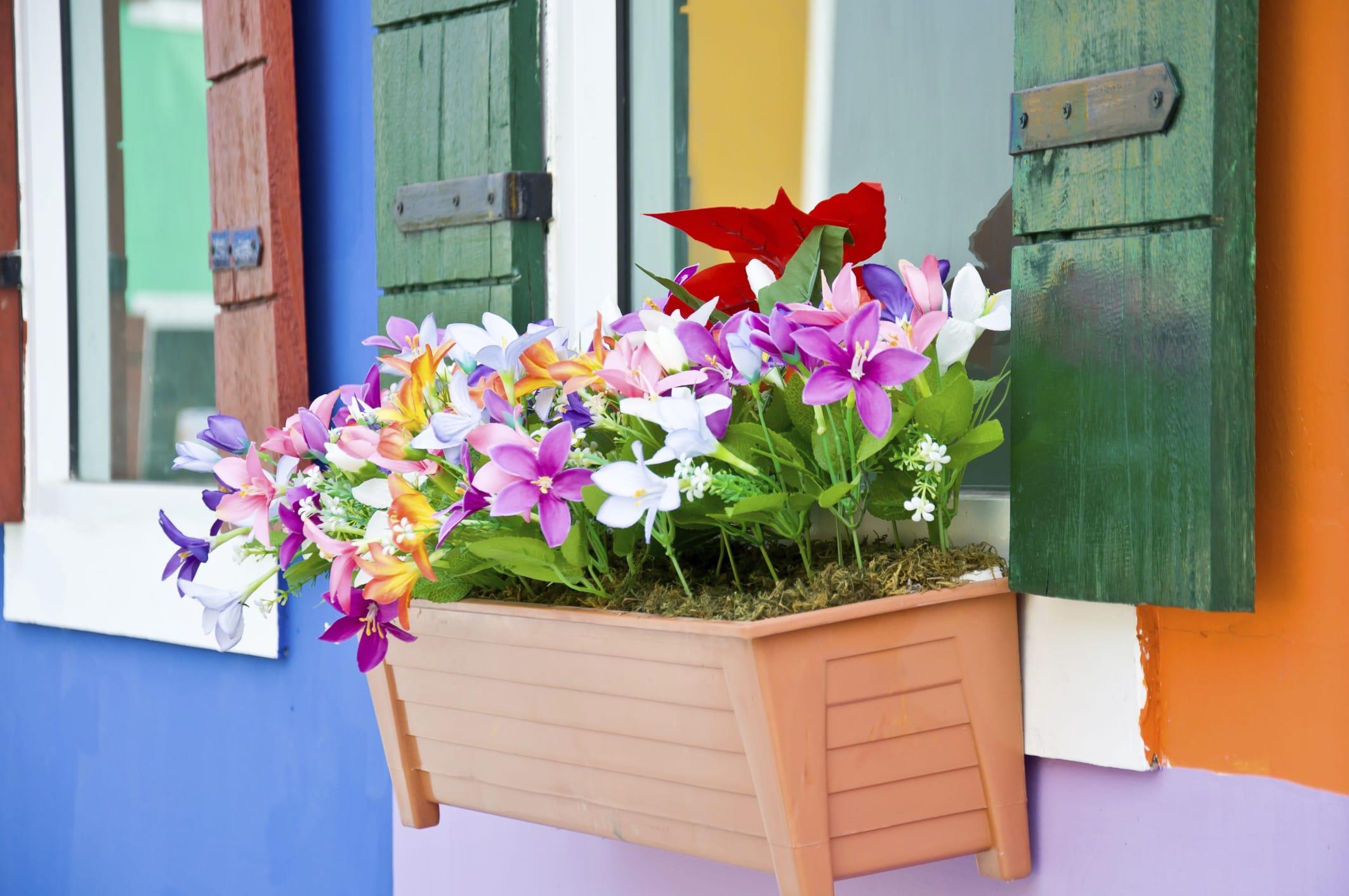 Popolare Come arredare il balcone con i fiori - Non sprecare TB81