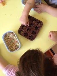 come fare cioccolatini riciclando uova di pasqua
