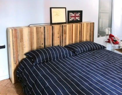 la camera da letto di controprogetto