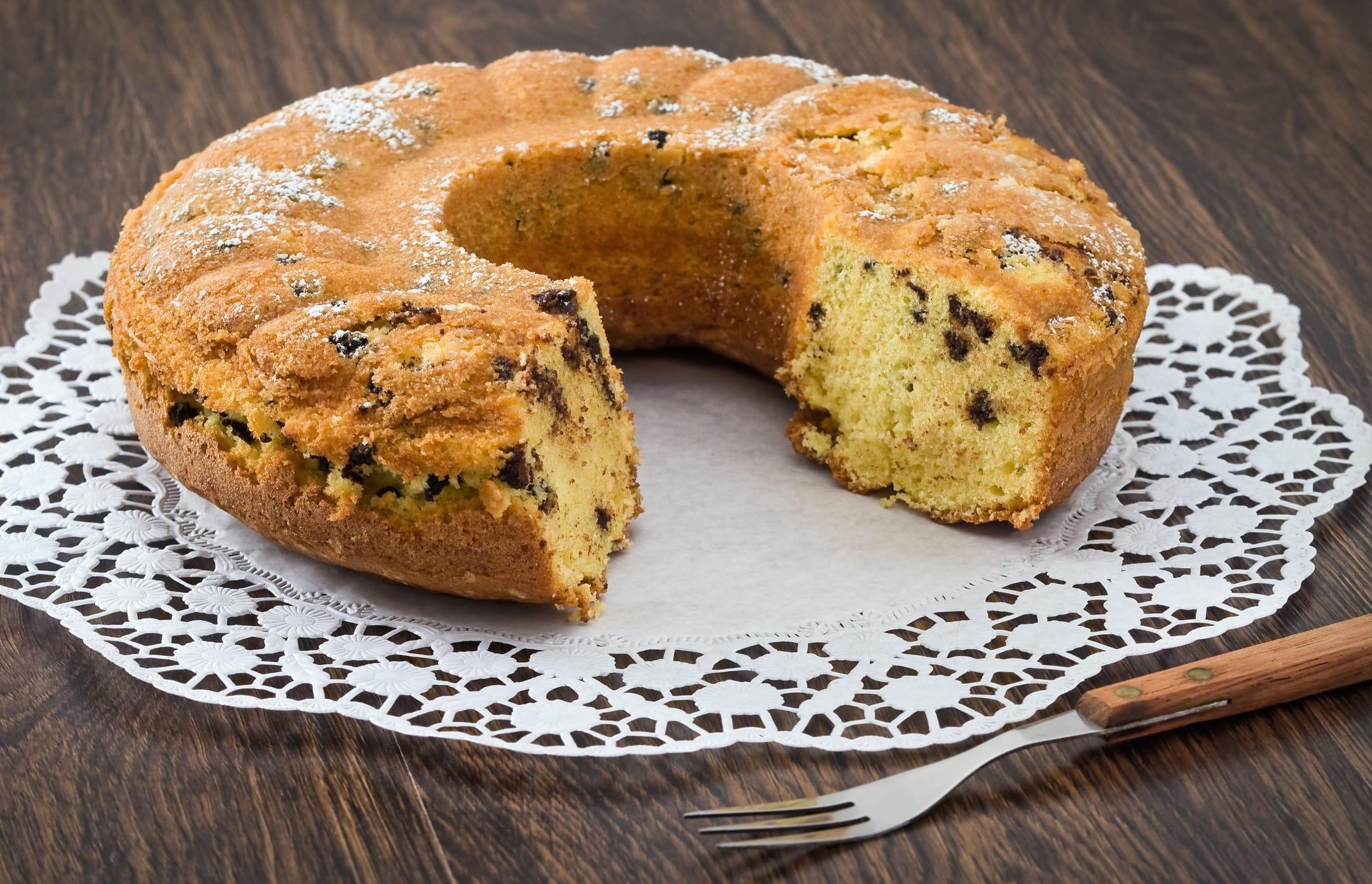 ricetta della torta stracciatella