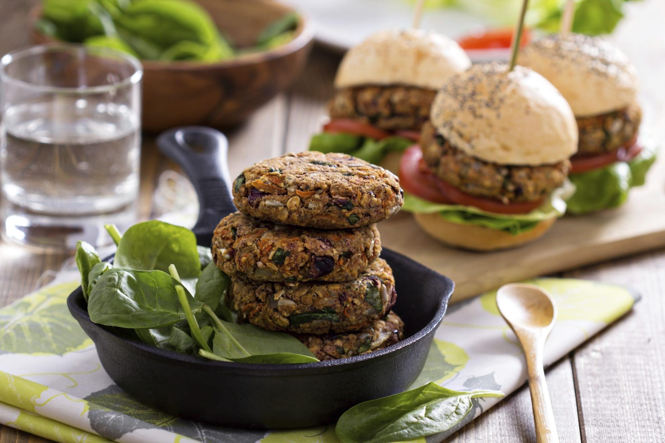 ricette burger vegetali | non sprecare - Come Cucinare Hamburger Di Carne