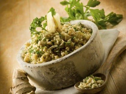 Tutte le proprietà nutritive dello zenzero e la ricetta per un delizioso risotto