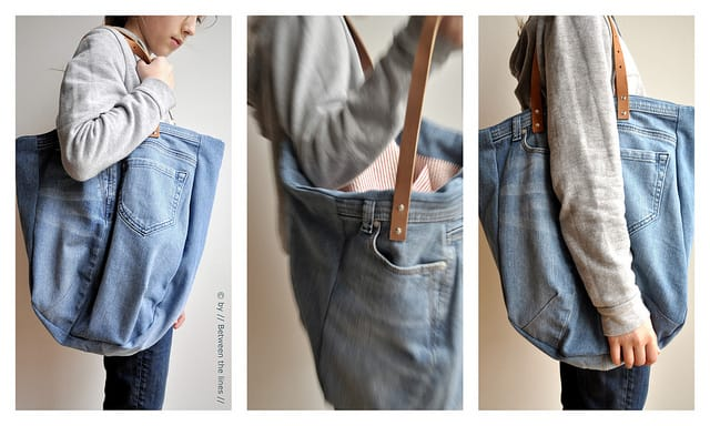 Favorito Come fare una borsa da un paio di jeans | Foto - Non sprecare XI72