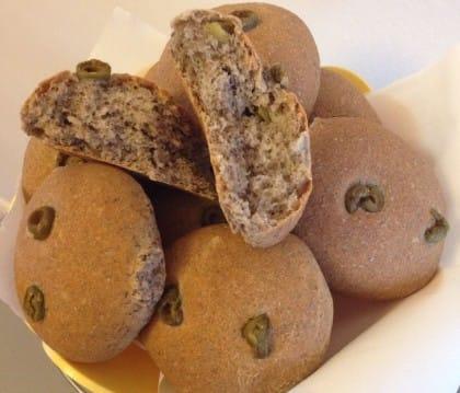 Ricette con olive in salamoia: il pane