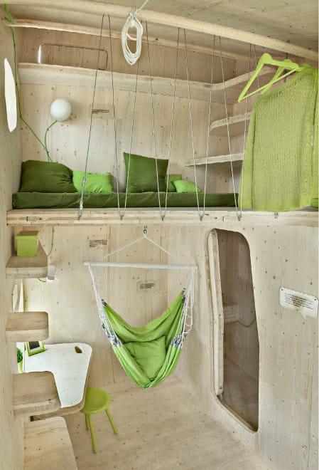 vivere in una casa piccolissima