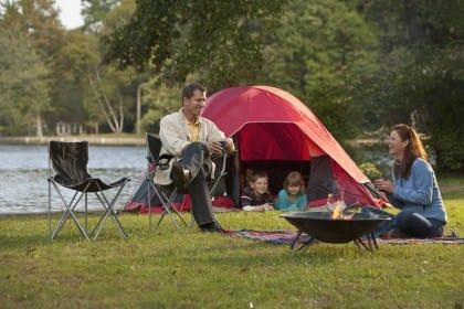 libertà in campeggio