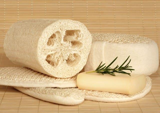 Come usare la spugna di luffa, vegetale, ipoallergenica, biodegradabile e naturale