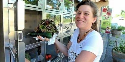 distributori automatici di frutta e verdura bio