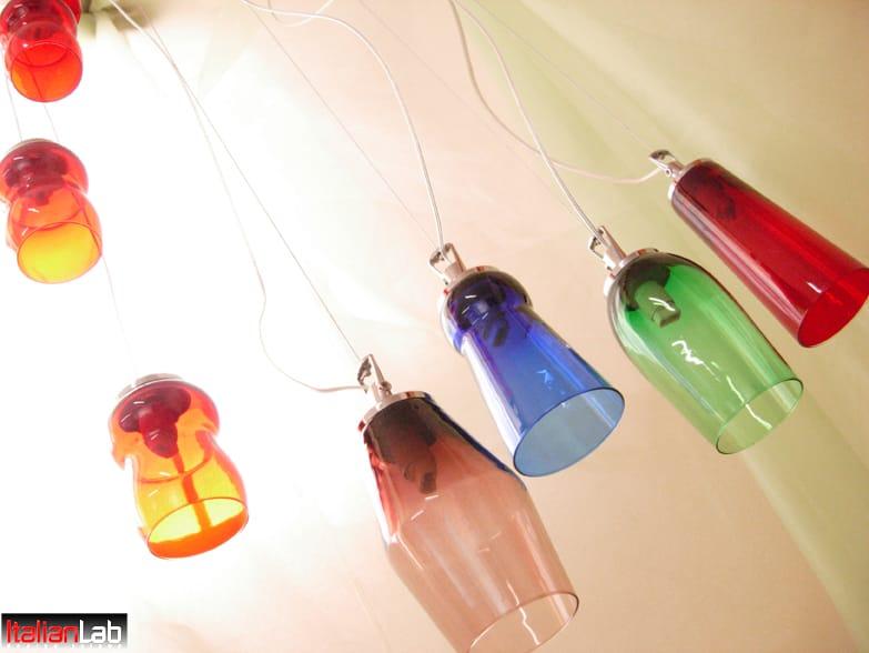 Super Riciclo creativo bicchieri di vetro - Non sprecare NQ58