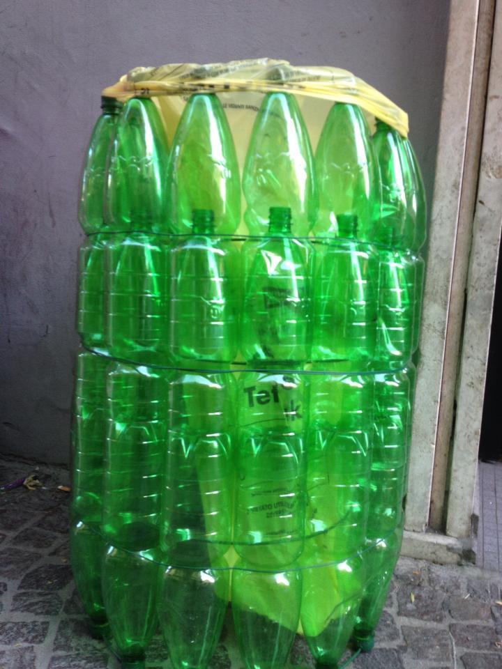 Preferenza Riciclo creativo bottiglie di plastica | Non sprecare NO89