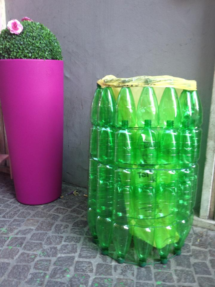 Estremamente Riciclo creativo bottiglie di plastica | Non sprecare YQ75