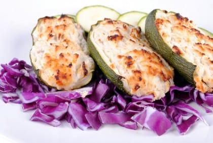 zucchine ripiene vegetariane: la ricetta