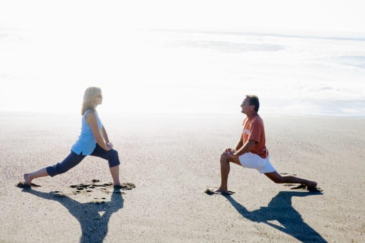 esercizi da fare sulla spiaggia
