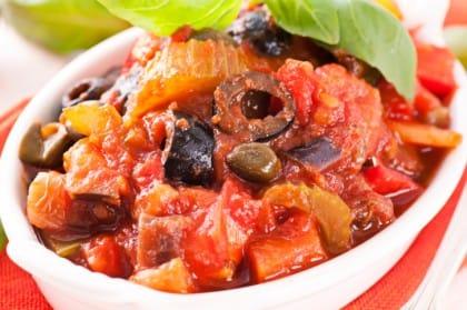 Caponata di melanzane: la ricetta