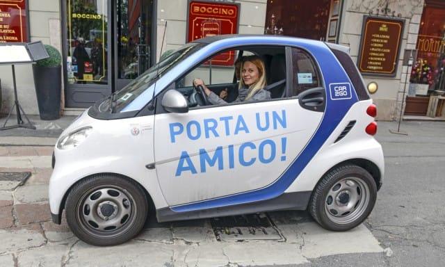 Milano sempre più car free: oltre al car sharing, è in arrivo lo scooter-sharing