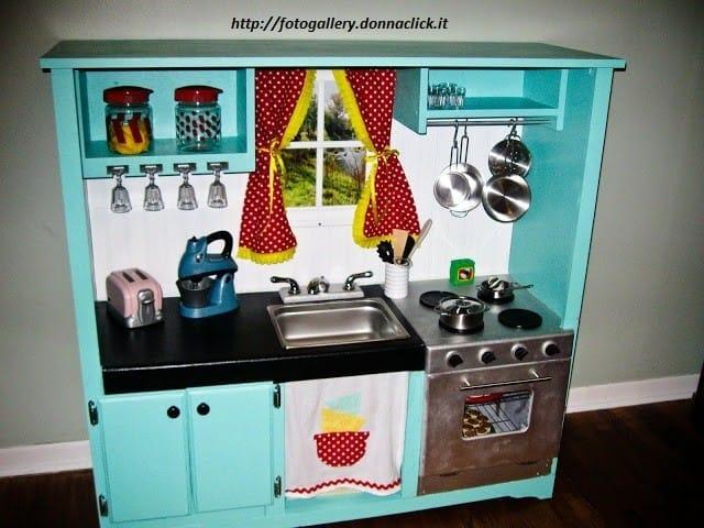 Come costruire una cucina in legno per bambini non sprecare - Costruire un mobiletto ...