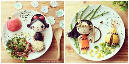 Come far mangiare le verduure ai bambini