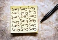L'importanza di chiedere scusa. Una parola chiave che abbiamo rimosso