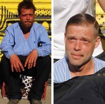 La storia di Mark Bustos e del suo impegno per i senzatetto di New York