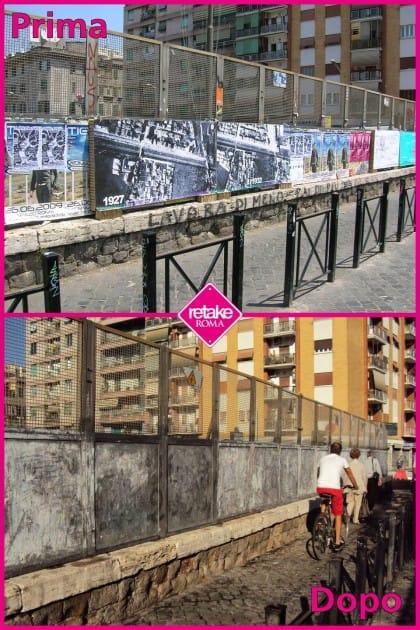retake roma, decoro urbano nella capitale