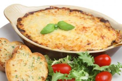 ricetta lasagna di pane
