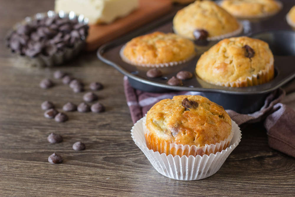 ricetta muffin zucca e cioccolato