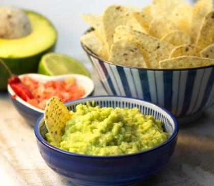 ricetta salsa guacamole originale