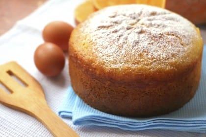 cucina degli avanzi: torta con scarti di centrifuga