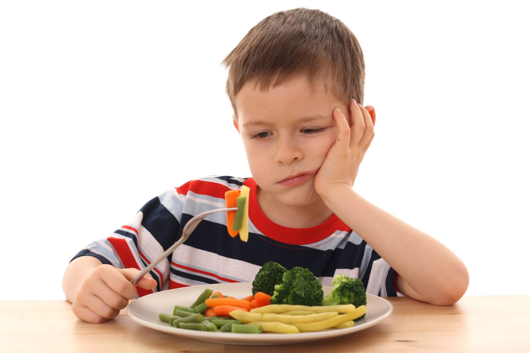 Come convincere i bambini a mangiare le verdure