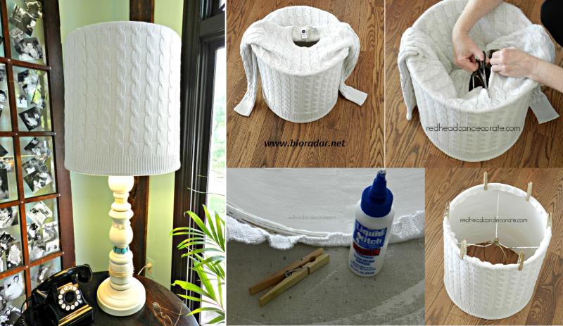 Riciclo creativo vecchi maglioni non sprecare - Riciclare tutto in casa ...