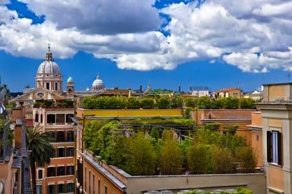 vantaggi dei tetti verdi
