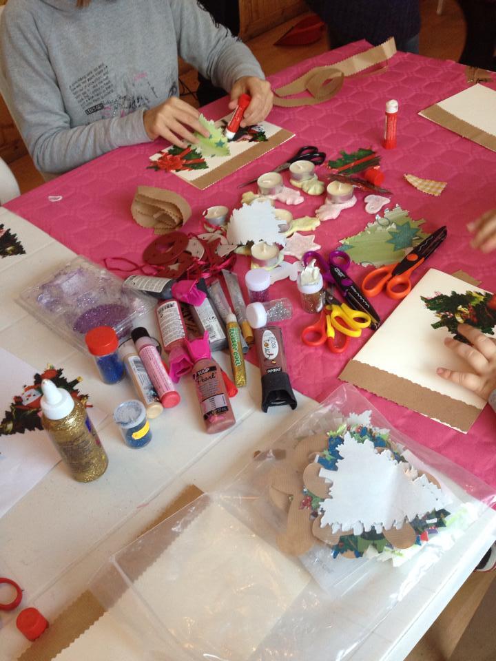 Biglietti natalizi fai da te con il riciclo creativo non sprecare - Portacandele natalizi fai da te ...