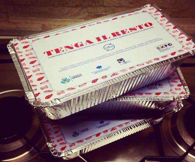 """A Monza, la campagna """"Tenga il resto"""" contro gli sprechi di cibo al ristorante"""