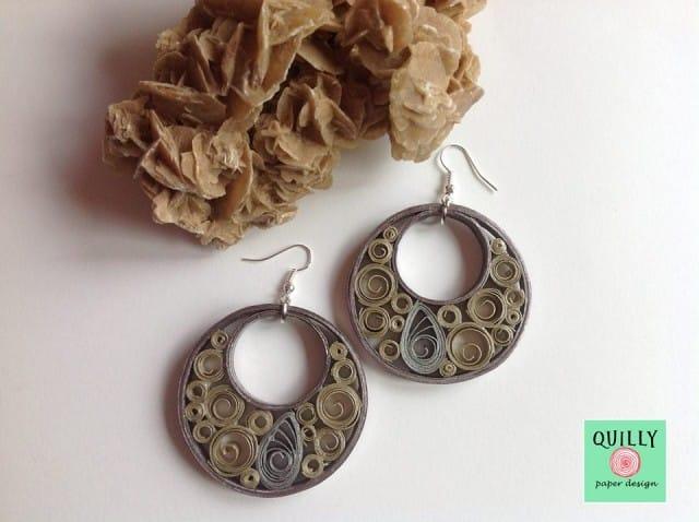 QuillyPaperDesign: i gioielli realizzati con la carta avanzata dalla nostra lettrice Daniela | Foto