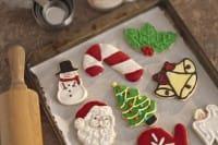 Biscotti di Natale con la glassa