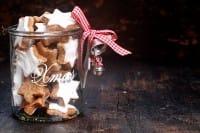 Biscotti natalizi in barattolo