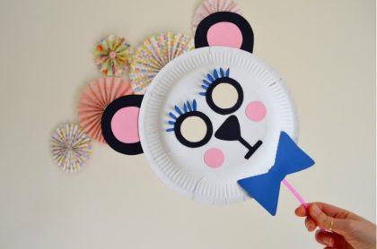 riciclo creativo piatti di carta