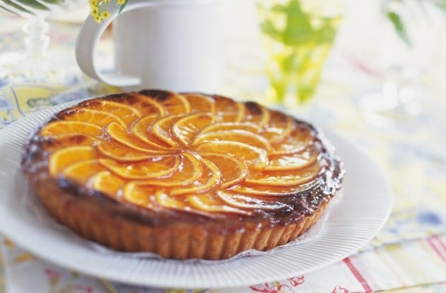 ricetta torta con arance caramellate