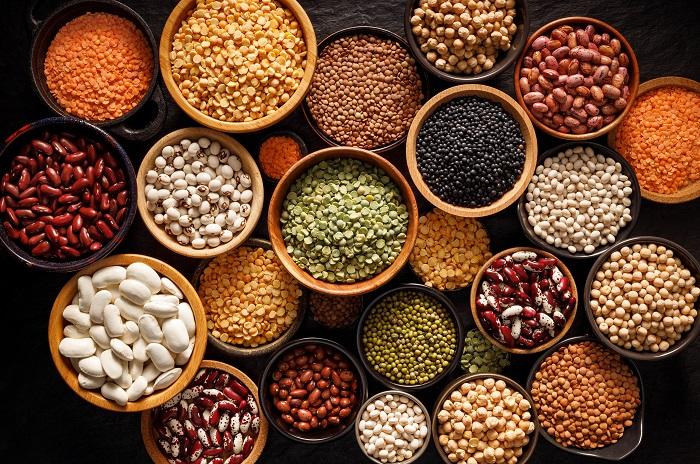 Alimenti con proteine vegetali