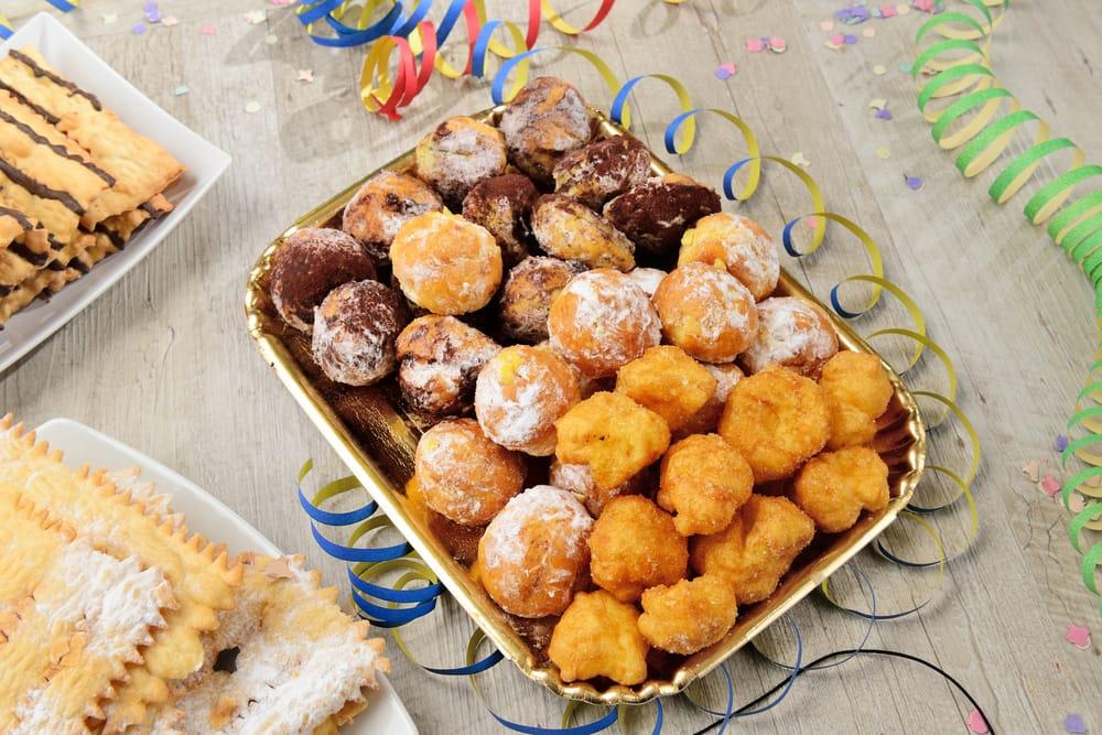 Ricetta castagnole ripiene non sprecare for Ricette dolci di carnevale
