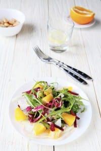 Un contorno ricco di vitamine con arance e finocchi